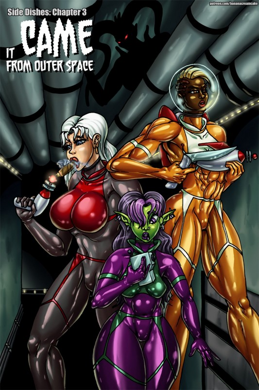 Transmorpher DDS - Side Dishes Chapter 3 art by Patreon
