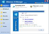 Windows 10 Manager 2.1.9 Final RePack (& portable) by KpoJIuK (x86-x64) (2017) [Multi/Rus]