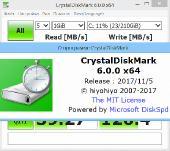 CrystalDiskMark 6.0.0 Final + Portable (x86-x64) (2017) [Multi/Rus]