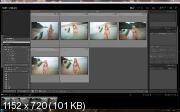 Легкая ретушь в фотошоп (2017) HDRip