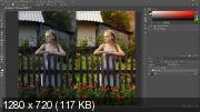 Качественное усиление резкости в photoshop (2017) HDRip