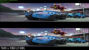 Тачки 3 3D / Cars 3 3D  (Лицензия by Ash61) Вертикальная анаморфная стереопара