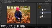 Мастер-класс. Обработка осенней фотографии (2017) HDRip