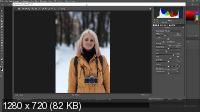 Ретушь и тонирование зимней фотографии (2017)