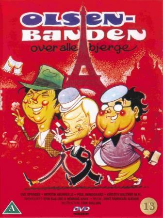 Банда Ольсена: Парижский план / Банда Ольсена далеко / Olsen-banden over alle bjerge / The Olsen Gang long gone (1981) HDRip