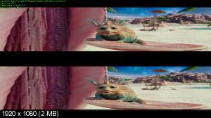 Валериан и город тысячи планет 3D / Valerian and the City of a Thousand Planets 3D ( by Ash61) Вертикальная анаморфная стереопара