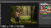 Обработка летних зеленых снимков (2017) HDRip