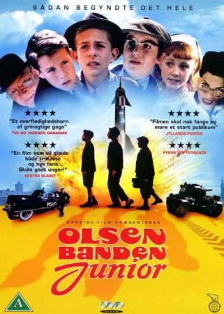Банда Ольсена в юности / Olsen banden junior / The Olsen Junior Gang (2001) HDRip