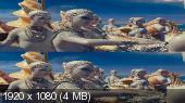 Без черных полос (На весь экран) Валериан и город тысячи планет 3D / Valerian and the City of a Thousand Planets 3D (BY_AMSTAFF)  Вертикальная анаморфная стереопара