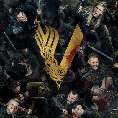 Викинги / Vikings [Сезон: 5, Серии: 1-17] (2017-2018) WEB-DL 720p | Newstudio
