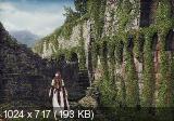 Коллаж Девушка у старого замка (2018) [3.28 GB]