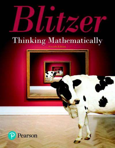 Thinking Mathematically, Books a la Carte Edition, 7th Edition