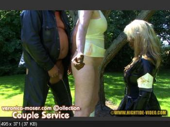 Hightide Scat (Veronica Moser, Madame LL, 1 male) VM40 - COUPLE SERVICE [HD 720p] Scatology, Latex, Domination