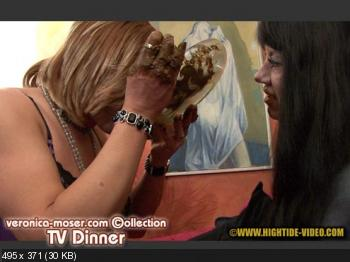 Hightide Scat (Veronica Moser, 1 TV) VM33 - TV DINNER [HD 720p] Blowjob, Fisting, Shemale