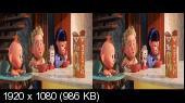 Суперсемейка 2 3D / Incredibles 2 3D  Горизонтальная анаморфная стереопара