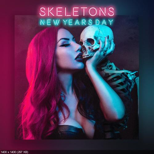 New Years Day - Skeletons (Single) (2018)