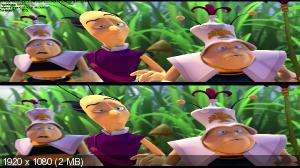 Пчёлка Майя и Кубок мёда 3D / Maya the Bee: The Honey Games 3D (by Ash61) Вертикальная анаморфная стереопара