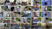 Scat Humiliation: (MilanaSmelly) - The girls liked this feeding tool [HD 720p] - Femdom, Shitting